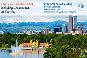 2020 AAD ANNUAL MEETING